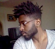 8 Cool Dread Hairstyles For Black Men Dreads On Guys With Just The ...
