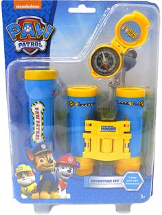 Buy Paw Patrol Adventure Set securely online today at a great price. Paw Patrol Adventure Set available today at Tops Toys. Toys R Us, Toys For Boys, Paw Patrol Costume, Mermaid Tails For Kids, Paw Patrol Toys, Binoculars For Kids, Diy Barbie Clothes, Unicorn Rooms, Toddler Boy Gifts