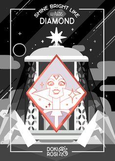 Steven Universe Diamond, Universe Art, Fanarts Anime, Cute Cartoon Wallpapers, Super Smash Bros, Diamond Authority, Amazing Art, Cool Pictures, Geek Stuff
