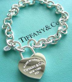 Tiffany OFF! One of the prettiest bracelets I own. Tiffany Co charm bracelet. Tiffany Jewelry, Tiffany Bracelets, Tiffany Necklace, Necklace Set, Pendant Necklace, Tiffany Und Co, Tiffany & Co., Tiffany Gifts, Discount Jewelry