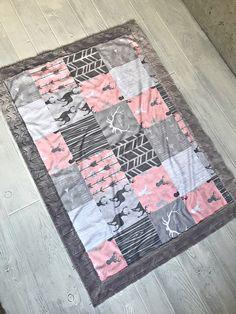 Minky Baby Blanket + Free Pattern, How to Sew Minky Blanket, Minky ...