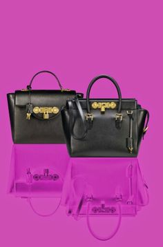 Versace lock signature bag