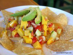 Mango Ceviche, Tacos Cancun (Santa Ana, CA) #vegan