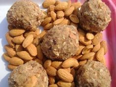 Gaund ke laddu is a very well known sweet dish in india. They are rich in taste and contents as they are made from edible gum (Gaund) and dry fruits. http://www.inhouserecipes.com/Blogs/post/2011/02/02/Gaund-Ke-Laddu-(Panjiri)-The-Fat-Ball-Video.aspx  You would see them mostly in winter season on all sweet shops..  I simply love to eat them...