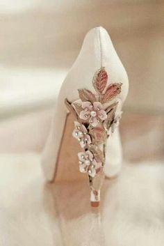 Flowery heels
