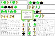 St. Patty's Day patterns