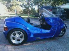 2009 Thoroughbred Stallion Trike Trike , Blue, miles for sale in Calabasas, CA Electric Tricycle, Trike Motorcycle, Used Motorcycles, Motor Scooters, Dream Garage, Thoroughbred, Motorbikes, Wheels, Trucks