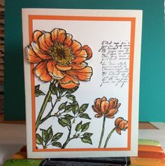 I NEED this Bloom with Hope stamp set, it looks so gorgeous with the Blendabilities markers! #stampinup