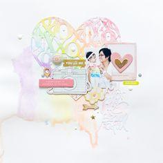 You Color My Life Beautiful - Scrapbook.com