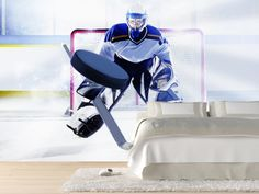 Ice hockey Ice hockey Wall murals and Hockey
