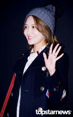 [HD포토] 소녀시대(SNSD) 수영 상큼한 손인사 #topstarnews