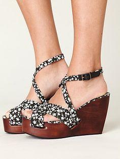 Forget Me Not Platform by Madison Harding #madisonharding #platform #shoes #floral #freepeople