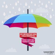No necesitas una vida perfecta para que sea maravillosa http://www.estudiantes.info