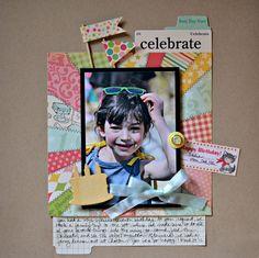 Celebrate June 28 2012 Blog Sketch Layout
