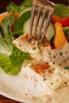 Creamy Herb Chicken  - Delish.com