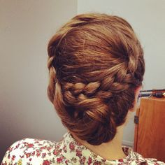 Braided updo by Laura Reber