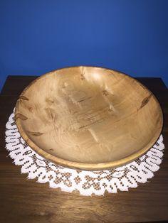 Ambrosia Maple Bowl 12 1/4 inches wide