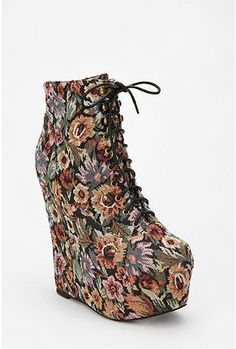 Jeffrey Campbell Tapestry Damsel Wedge