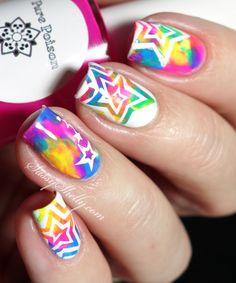 Neon Smoosh Marble -