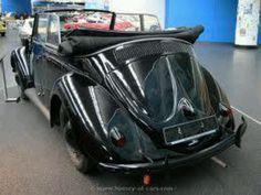 1938 Beetle convertible @ VW Museum in Germany.