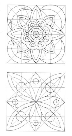 Art of creation classroom activities activities classroom creation Mandala Art, Mandala Drawing, Mandala Painting, Dot Painting, Geometric Drawing, Geometric Art, Zentangle Patterns, Quilt Patterns, Islamic Patterns