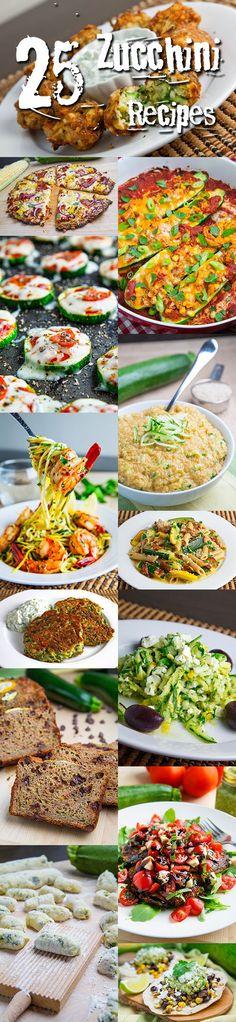 25 Zucchini Recipes