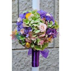 lumanari de nunta din hortensie si trandafiri Floral Wreath, Wreaths, Home Decor, Flower Crown, Decoration Home, Door Wreaths, Deco Mesh Wreaths, Interior Design, Garlands