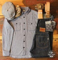 peterfieldsberlin: Hatteras linen/silk from Stetson Europe. Maritime Bandana from Fat-Boy Clothing. Herringbone Shirt from Edwin Europe. Po...