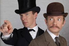 Is that Sherlock dressed as... Sherlock Holmes? #221back