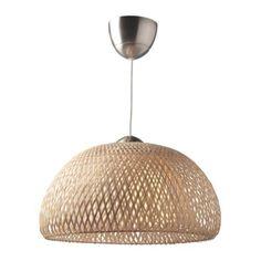 IKEA BÖJA Pendant lamp RATTAN
