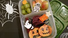 Lunches Fit For a Kid: Lunches 10.29.14 - Halloween Blog Hop!