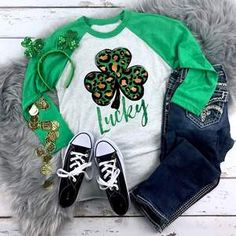 Green Plaid Leopard Peace Love St Patricks Day Unisex Hoodie