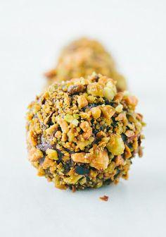 Pistachio Cardamom Truffles
