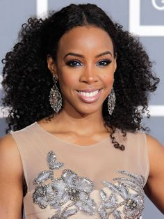 Top 19 der Kelly Rowland-Frisuren - Part 3 Medium Hair Styles, Curly Hair Styles, Natural Hair Styles, Natural Curls, Natural Face, Funky Hairstyles, Black Women Hairstyles, Gorgeous Hairstyles, Celebrity Hairstyles