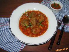 Polpete z mletého mäsa v paradajkovej omáčke ♥ ♥ ♥ Lidl, Curry, Beef, Ethnic Recipes, Food, Meat, Curries, Essen, Meals