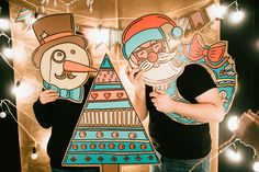 Makers. Фотозоны для праздника «Фотокартон» — Seasons Life!
