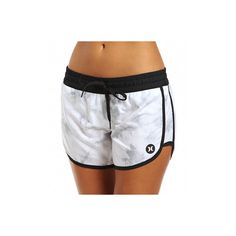 Hurley GAB500 Beach Active Dri-Fit 5'' Beachrider Runner Short ($40) ❤ liked on Polyvore featuring activewear, activewear shorts, hurley and hurley sportswear