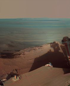 Awesome picture on the surface of mars.