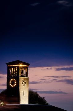 Chautauqua Institution - Miller Bell Tower - photo by petewrightphoto, via Flickr