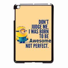 Minion Quote iPad Mini Case