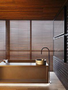 Banheiro no Hotel Black Arquiteto: Guilherme Torres Fonte: Mostra Black 2013