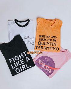 """64b445dcc6418 Camila Rech on Instagram  """"⚡️SORTEIO ⚡ Quer ganhar DUAS camisetas iradas da   tendatshirt   Tu mesmo pode escolher as estampas no site deles depois!"""