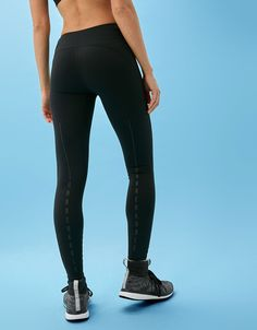 Technical sporty leggings with mesh detailing. Discover this and many more items in Bershka with new products every week