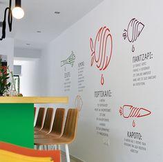 """ TO BAZAKI"" juice bar – design identity on Behance"