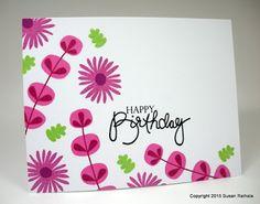 Simplicity: Bright Birthday Greetings