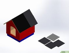 Winter Dog House Plans Lovely How to Build A Dog House with Wikihow – Dog Kennel Build A Dog House, Dog House Plans, Pole Barn House Plans, Craftsman House Plans, Modern Courtyard, Courtyard House Plans, Modern Dog Houses, Modern House Plans, Large Insulated Dog House