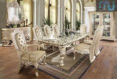 Model Meja Makan Jakarta Produksi Jepara - Furniture Jepara - Furniture Jepara Classic Home Decor, Elegant Home Decor, Elegant Homes, Classic House, Dining Room Sets, Dining Room Furniture, Home Furniture, Dining Chairs, Dining Table