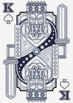 Great looking illustration - King Card