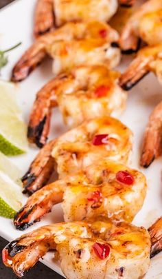 Spicy Thai Grilled Shrimp