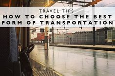 Travel Tips : How to